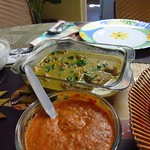 "Tomato Chutney, Chicken Curry <a style=""margin-left:10px; font-size:0.8em;"" href=""http://www.flickr.com/photos/14315427@N00/6922922457/"" target=""_blank"">@flickr</a>"
