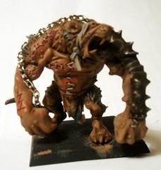 Rat Ogre Front (Camper_Bob) Tags: miniature painted fantasy warhammer skaven