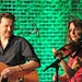 Colin Devlin and Sharon Corr