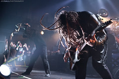 Korn (Joe Gall Photography) Tags: michigan detroit performing dread korn 2012 micstand february23 thefillmore jonathandavis monsterenergy joegallphotography