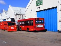 Arriva London (PD3.) Tags: park uk england bus buses ahead paint accident go group hampshire dorset damage barton trim refurbishment psv pcv refurb eastleigh repaint hants goahead 15042012southampton
