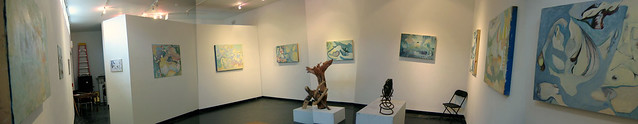 Panoramic View of Josh Shippee's Show