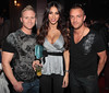 Georgia Salpa with Tallifornia's Jay and Philly Hush nightclub at the Red Cow Complex celebrates it's 5th birthday Dublin, Ireland