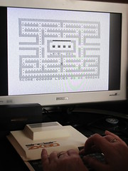 ZX81 Pac-Man on ZX80 (Rain Rabbit) Tags: game computer retro pacman sinclair zx80