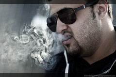 Not just smoking !! (Moh'd Al Grainees) Tags: smoke smoking دخان تبغ تدخين سجائر