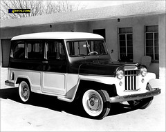 1955 Willys Station Wagon (USA) (Dkarros.com) Tags: usa 1955 car station wagon photo jeep 4x4 picture kaiser suv willys stationwagon ranchera camioneta todoterreno estanciera guayn