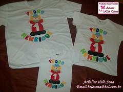 camisa com aplicao em feltro circo palhao (cantinho-helo) Tags: circo com feltro em palhao camisa aplicao