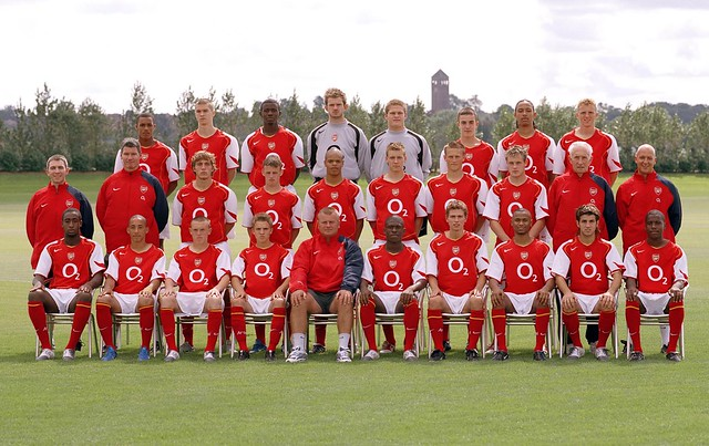 Arsenal Youth Squad 2004/5