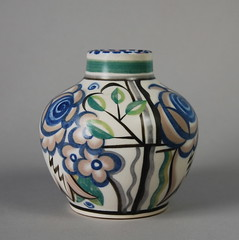 Poole pottery Vase 1920s/30s 5'' (Psychoceramicus) Tags: uk 1920s art studio ceramic 1930s ceramics hand dish traditional bowl pots dorset vase pottery deco charger poole vases decorated thrown