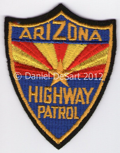 Arizona Highway Patrol (Old style cheesecloth)
