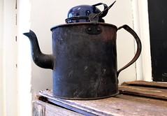Tea, anyone? (di on the wallaby) Tags: old history australia exhibit tasmania teapot derby blinkagain derbyschoolhousemuseum