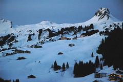 """mittagsspitze """"winterlandschaft blaue stunde"""""""