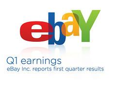 eBay Q1 Earnings graphic