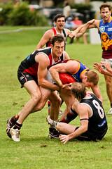 Brisbane Lions Reserves vs Morningside Rd6 2012 (michaelrjorgensen) Tags: away morningside lionsreserves rd62012
