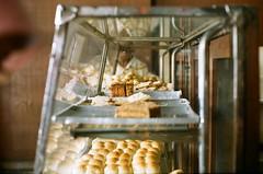 (yttria.ariwahjoedi) Tags: old food film analog canon vintage indonesia bread yummy display ae1 fluff eat bakery historical bandung flour agfa bake braga roti sumber jadul hidangan