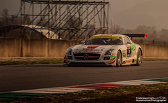 SLS GT3 (Francesco Carlo | Automotive Photographer) Tags: sunset italy white canon eos mercedes benz is amazing shot image dusk gorgeous picture racing ring h l motor 28 usm 12 af panning epic 70200 f4 v8 sls amg gdl dunlop gt3 1755 ultrasonic tricolore mugello stabilizer 650d affalterbach fcarphoto