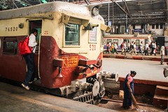 Victoria Station, Mumbai, India, 2014