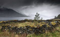 All things pass with time. (lawrencecornell25) Tags: landscape outdoors scotland highlands scenery raining glenelg scottishhighlands lochduich nikond5