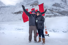 Columbia Ice Field Glacier (flippers) Tags: ca mountain snow canada cold jasper dad glacier snowcapped mum alberta icefields columbiaicefields snowcap
