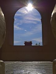 Temple of Sun (senza senso) Tags: sun backlight croatia istria darktable