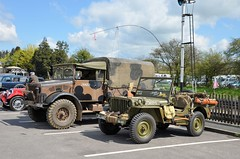 Military Vehicles at Toddington (davids pix) Tags: radio war jeep weekend military railway gloucestershire vehicle gala warwickshire 2016 toddington 23042016