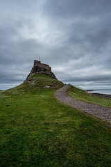 Castle on The Holy Island of Lindisfarne (haywardk49) Tags: uk england people raw nef yorkshire wideangle northumberland d750 jpg fullframe scotish stotland