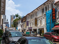 IMG_0252 (jack_the_rabbits) Tags: street city sky building canon vintage landscape singapore chinatown wideangle stores 1740 6d