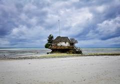 The Rock Restaurant, Zanzibar (Rod Waddington) Tags: ocean africa beach rock tanzania restaurant african indian afrika zanzibar afrique the