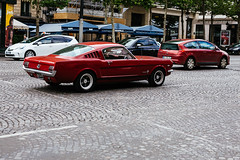 """Francesine"" (Sebastiano Runci) Tags: travel red paris car canon 50mm europa muscle exploring explorer travellers motor exploration cavalli 6d macchine americane vsco vscocam"