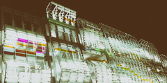[.......] [.....] [............] (lucymagoo_images) Tags: panorama abstract philadelphia architecture facade pattern artistic sony parking wide structure philly parkade phila rx100 lucymagoo lucymagooimages