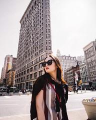 (Gao Bolun) Tags: street nyc building film girl brooklyn canon photography flatiron