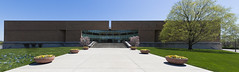 Columbus Indiana City Hall (Alan Amati) Tags: alan alanamati columbus indianain city hall skidmore owings architecture building modern pano panoramic exterior midwest