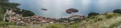 Sveti Stefan Panorama 01 (::darren::) Tags: panorama playground island hotel europe resort stefan communist islet yugoslavia mainland adriatic montenegro isthmus sveti fortifiedvillage karaorevi villamiloer