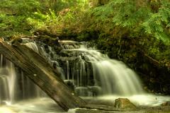 Upper Part of Chapel Falls (2016-06-18 1741) (bechtelsf) Tags: water landscape waterfall nikon long exposure michigan upperpeninsula chapelfalls d810 nikon2470mm28