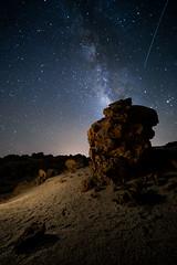 Otros mundos. (Alfix61) Tags: night star noche canarias estrellas nocturna teide largaexposicin