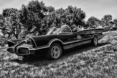 na na na na na BATMAAAAN! (Silverio Photography) Tags: batman batmobile car ford classic canon 60d sigma photoshop elements topaz adjust