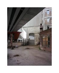 ** (ha*voc) Tags: urban 120 film mediumformat rotterdam urbandecay rangefinder 6x7 urbanfragments kodakportra400 mamiya7ii 43mm