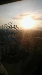 Sunset (.voyageur.) Tags: vienna wien graffiti austria sterreich tag savoy handstyle techr vauh