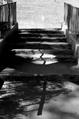 3113 (augusto gomes) Tags: avenida23demaio paraso sopaulo brasil pretoebranco escadas grades sombras