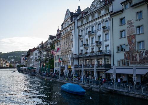 Day #6 - Switzerland (Lucerne old town)