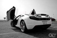 Mclaren MP4-12C wants to fly (@GLTSA Over a million views) Tags: auto white cars car canon photography photo nikon exterior image photos interior images mclaren saudi autos jeddah rim rims saudiarabia iphone mp412c