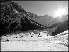 Brandnertal (marcel601) Tags: schnee shadow sun mountain snow ski alps austria sterreich berge alpin brandnertal