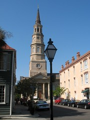St Philip's Episcopal Church, Charleston, S.C. (Hunky Punk) Tags: sc architecture southcarolina churches charleston churchstreet queenstreet stphilips hunkypunk stphilipsepiscopalchurch spencermeans