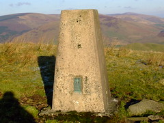 TIMPEN, trig point. (the water watcher 05.) Tags: wood winter light shadow sky nature rock stone rural landscape grey scotland countryside december skies view hill boulder valley sitka wintertime plinth lightandshadow rollinghills borders hilltop greysky eskdale trig dumfriesandgalloway greyskies trigpoint dumfriesshire langholm fujifinepixs5600 midhill timpen thelangholmwalks potholmvalley dumfriesshirehills sitkawood