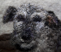 Felt Pembury close-up (Libby Hall Dog Photo) Tags: dog dogs felted pembury needlefelted libbyhall
