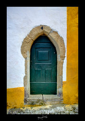 Porte Obidos Portugal by D.F.N. ('^_^ D.F.N. Damail ^_^') Tags: love canon word fun reflex europe picture dfn damail borderfx ilustrarportugal