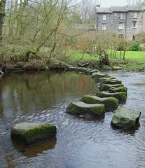 Barnsley boundary walk. (Steven Ruffles) Tags: river stones south yorkshire stepping don wortley deepcar