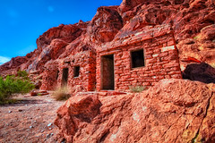 Sandstone Cabins (Christopher_William) Tags: park las vegas fire sandstone state nevada nv valley cabins overton