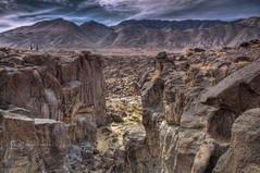 Fossil Falls Landscape (photoacumen) Tags: landscape lava mojave geology volcanic hdr fossilfalls photomatixpro majavedesert pse9