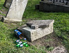 St. Nahi's Graveyard - Evidence Of Anti-Social Behaviour